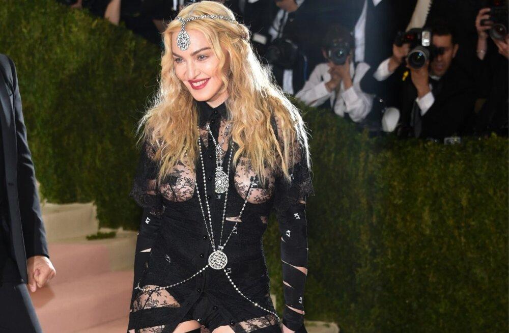 Madonna arrives at The Metropolitan Museum of Art Costume Institute Benefit Gala