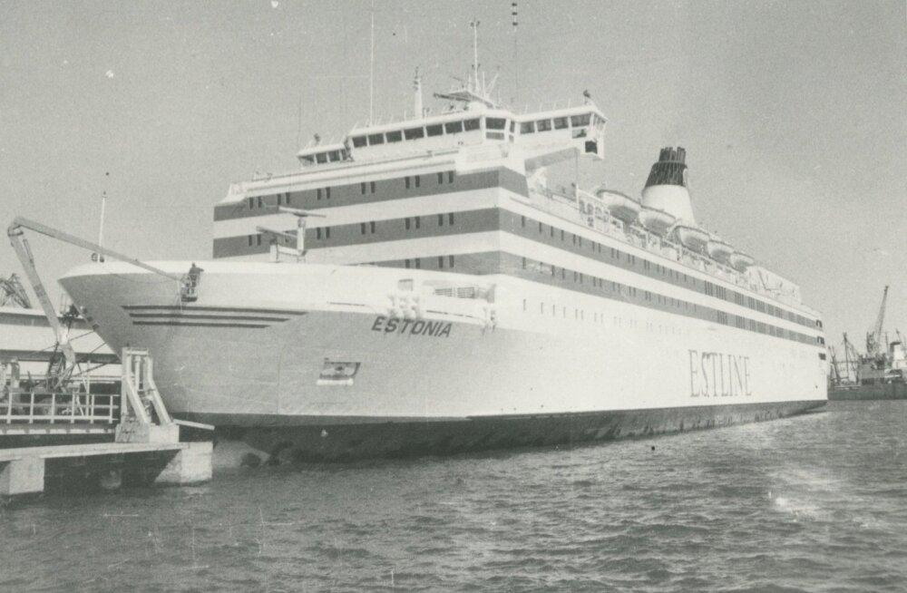К месту гибели парома Estonia подходило водолазное судно и спустило подводный аппарат