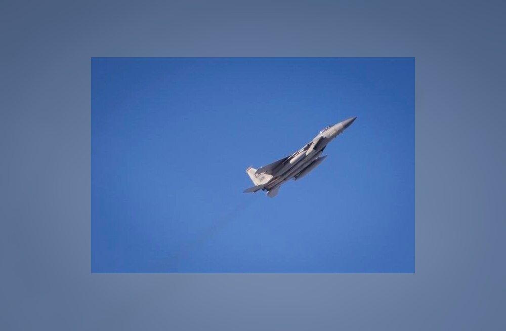 USA hävitajad F-15C maandusid Ämaris