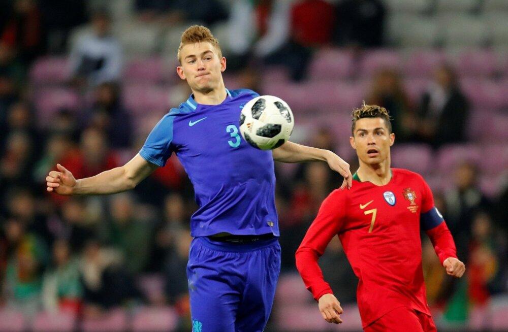 Sõprusmäng Holland - Portugal, Matthijs de Ligt
