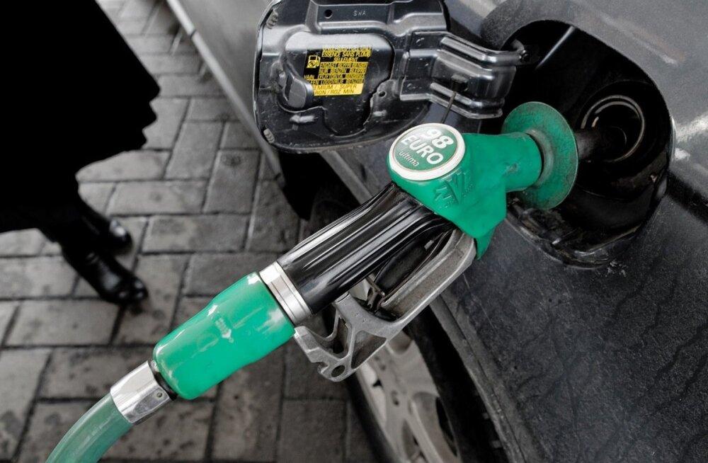 GRAAFIK: Kütuseaktsiisi tõus annab laekumistes kümnete miljonite eurodega tunda