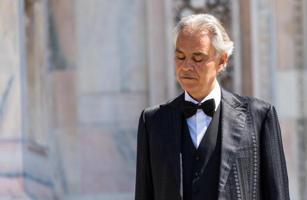 Andrea Bocelli virtuaalkontsert püstitas YouTube'i rekordi