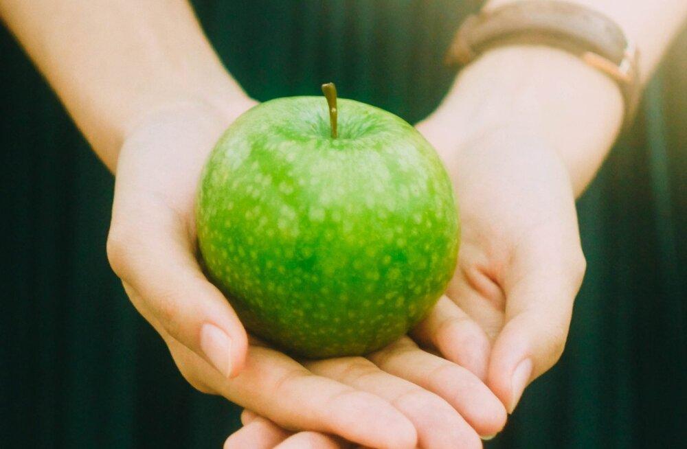 Ideaalse kaalu võti: ükspäev sõin ainult ühe õuna ja võtsin sellest juurde!