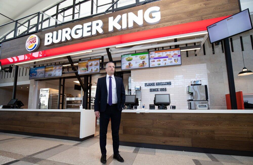 Tallinki juhi Paavo Nõgene sõnutsi avatakse Burger Kingi kiirsöögikohad mai lõpus.