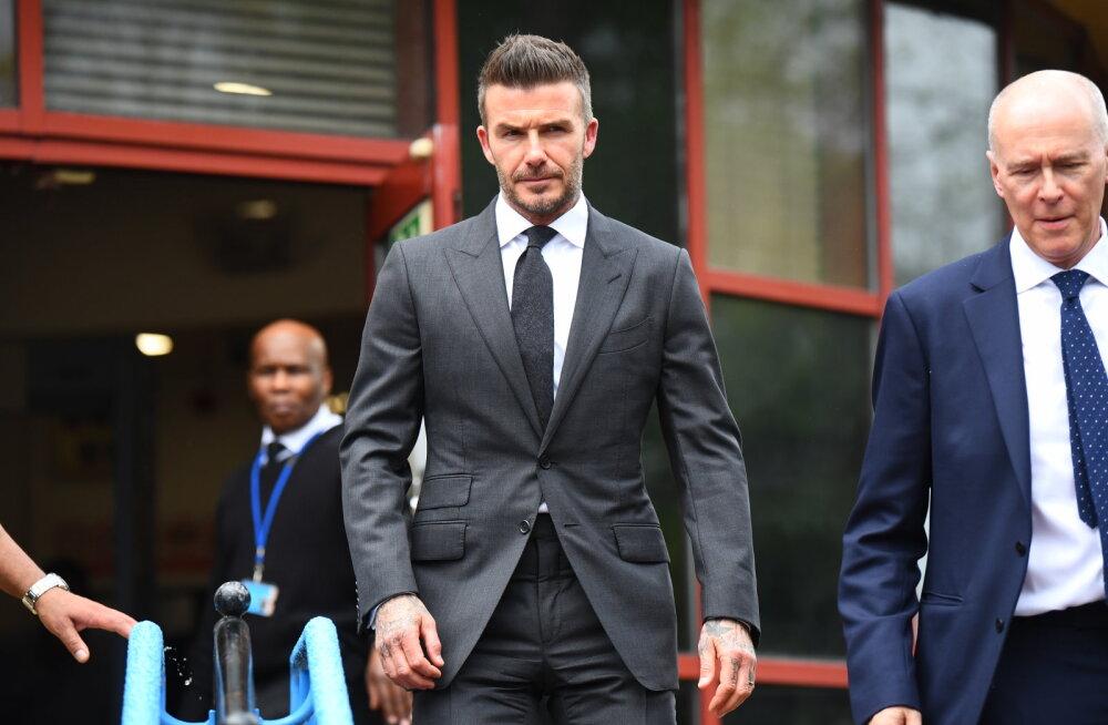 Eksperdid hindavad: Beckhami mainel on kriips peal