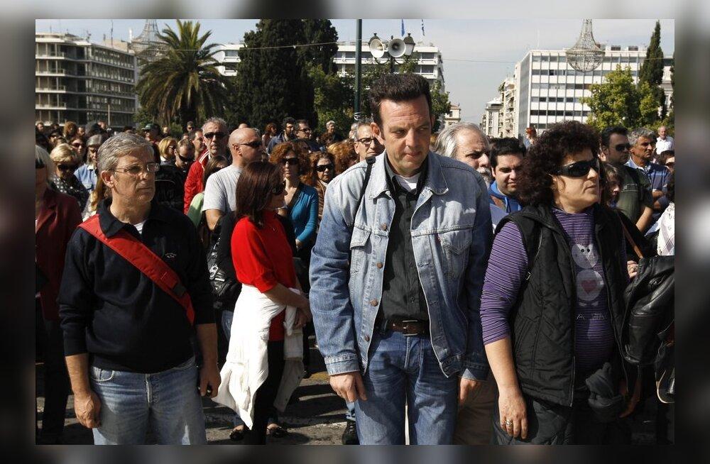 Kreeka alustab riigiteenistujate vallandamisega juunis