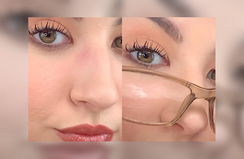 VIDEO   Kasulik nipp: jumestuskunstnik õpetab, kuidas meikida end nii, et prillid su ninalt meiki maha ei nühiks