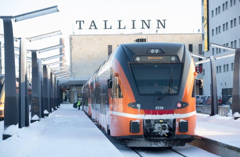 Elron не удалось уменьшить огромные проценты по лизингу на дизельные поезда