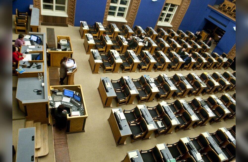 ERR: Eestis kuulub 5,8% elanikkonnast parteidesse