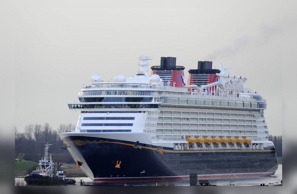 Selgusid maailma parimad kruiisilaevad - platsi tegi puhtaks Disney