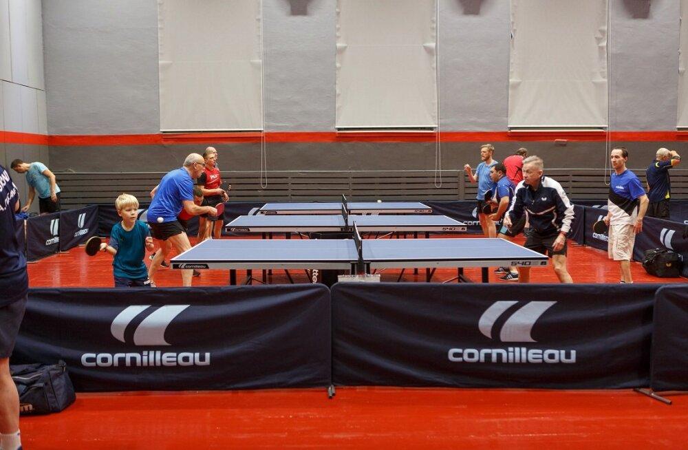 В Пыхья-Таллинне можно играть в настольный теннис круглый год