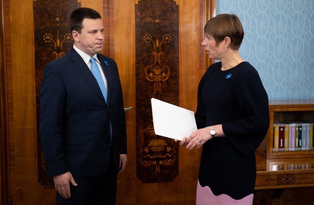 Jüri Ratas läheb homme Kadriorgu presidendiga pingestunud julgeolekuolukorrast rääkima