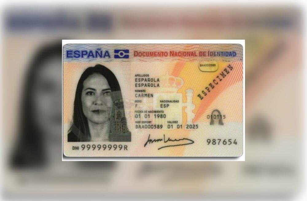 ID-kaardi kriis tabas ka Hispaaniat, mõjutades 60 miljonit kaarti