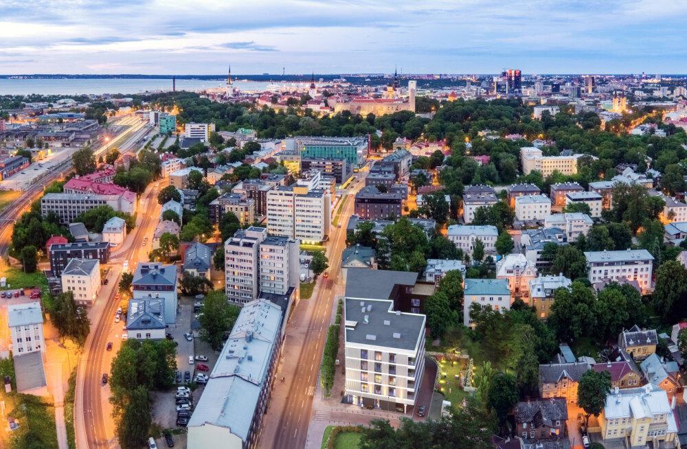 Miks soetada kodu Tallinna kolme parima asumi keskele?