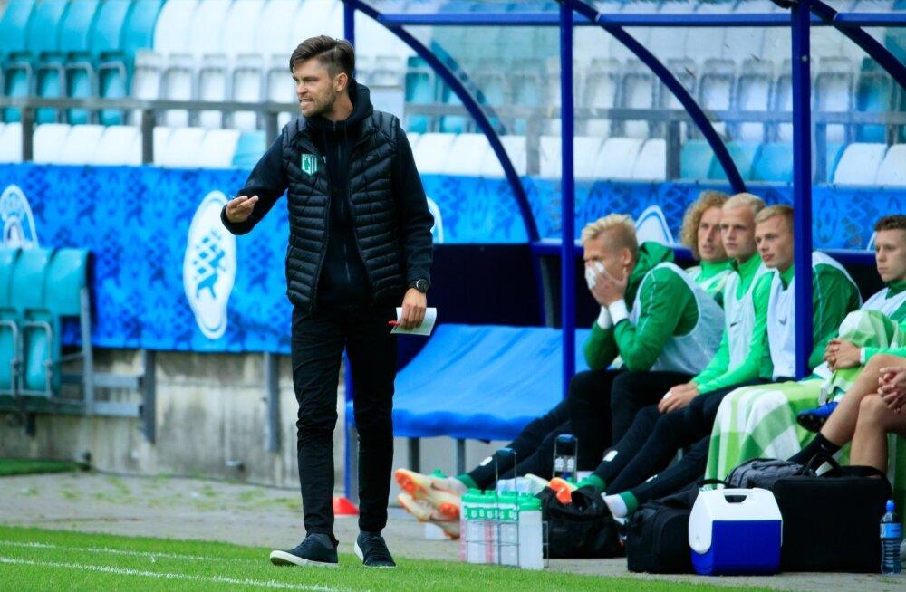 FC Flora peatreener Jürgen Henn