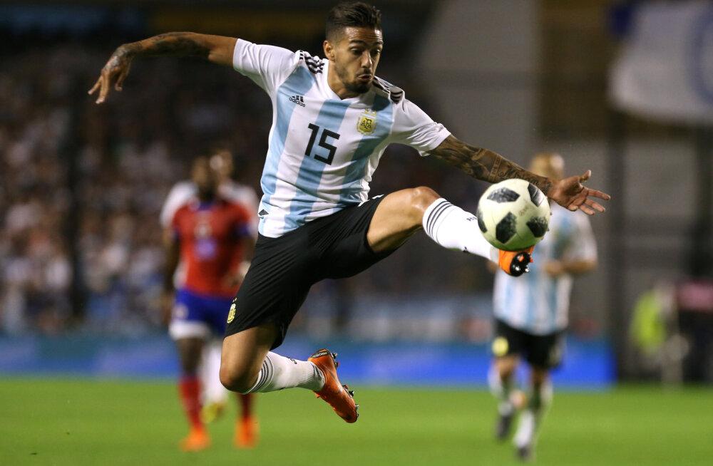 Argentiina koondislane MM-ilt väljas