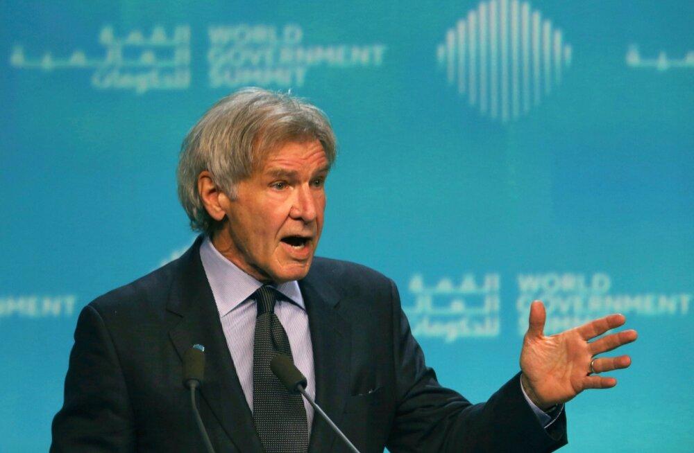 Harrison Ford esinemas Dubais.