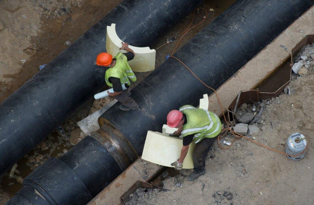 Välistööjõudu kasutatakse palju ehitussektoris.
