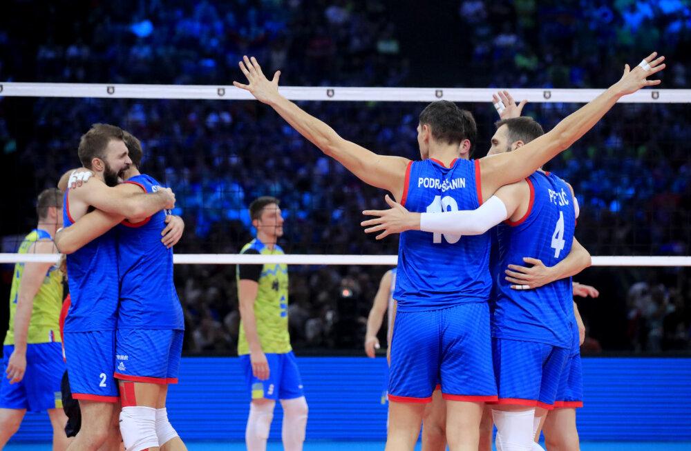 Сказка закончилась: Сербия выиграла у Словении финал чемпионата Европы по волейболу