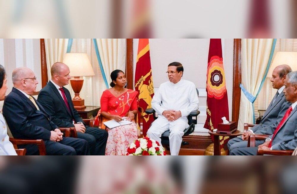 Eesti suursaadik Sri Lankal andis üle oma volikirja
