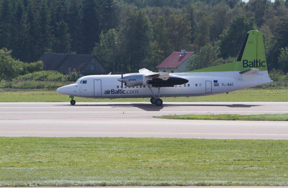 Объем пассажиров airBaltic вырос на 20%