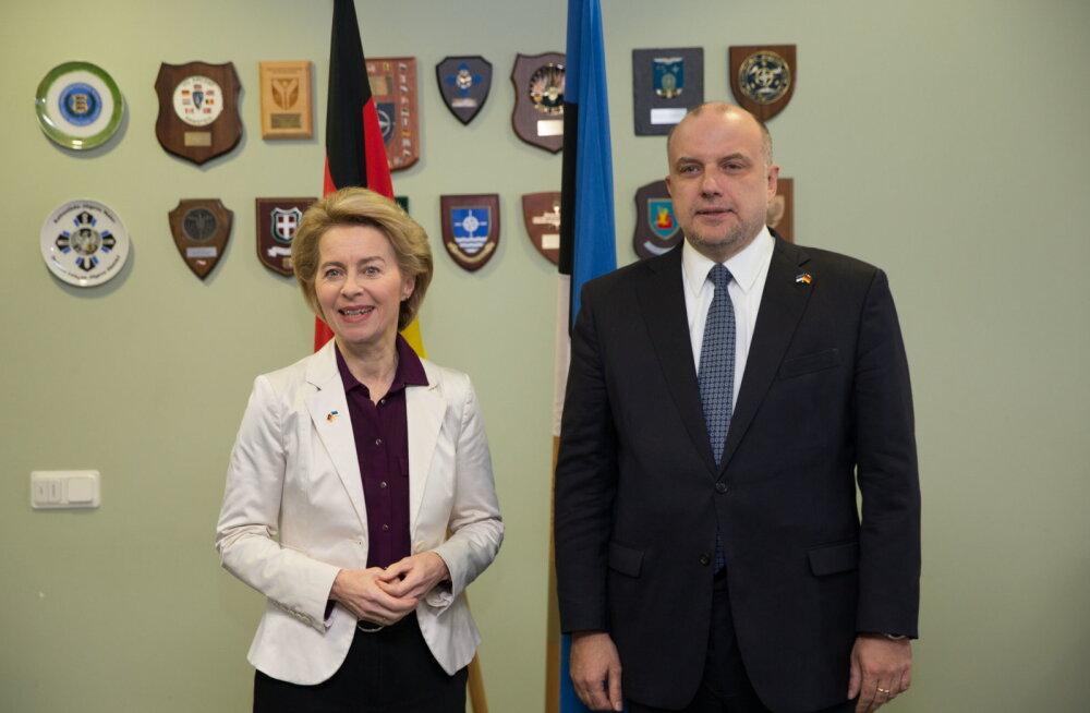 Министр обороны Германии прибыла с визитом в Эстонию