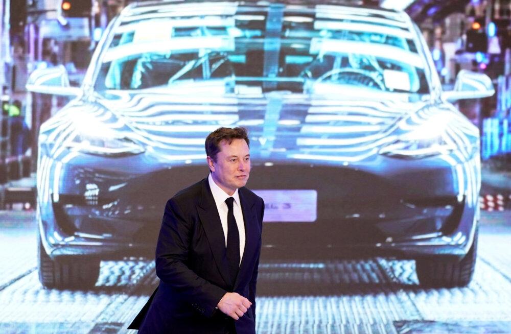 Tesla aktsia sõidab Ameerika mägedel