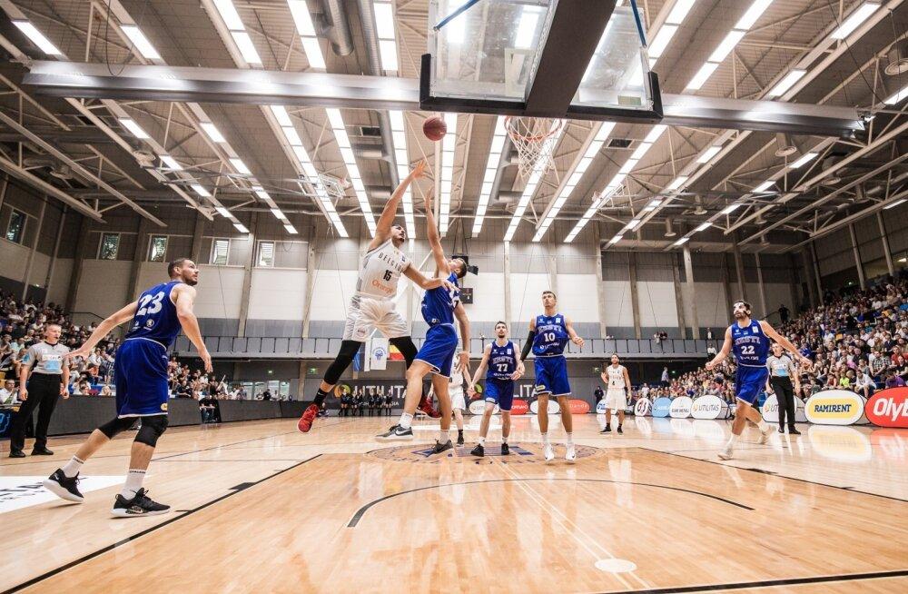 Eesti vs. Belgia sõprusmäng korvpallis