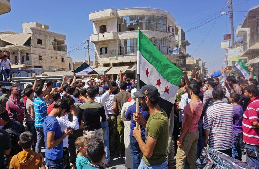 Trump hoiatas Süüriat, Venemaad ja Iraani Idlibi ründamise eest