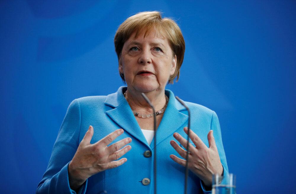 Merkeli värisemishäda on sakslaste arvates riigijuhi eraasi