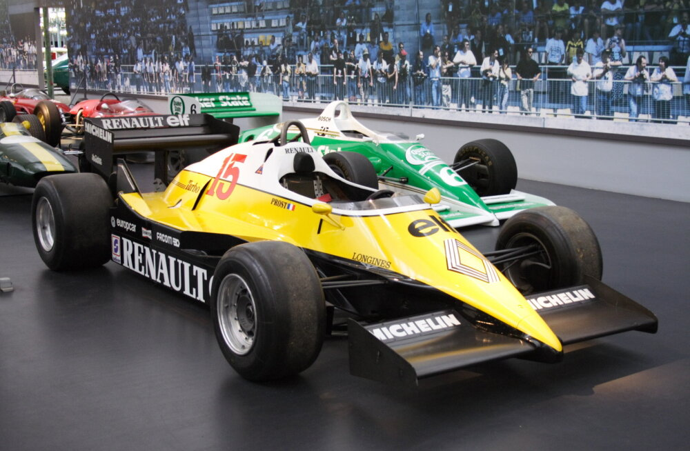 F1 aastal 1983: maaefekt keelati, turbod hakkasid möirgama ehk Piquet kolme prantslase vastu