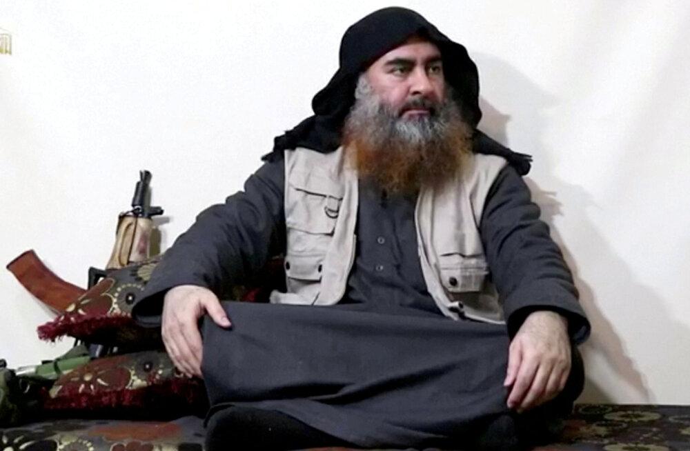 USA eriväelased matsid Islamiriigi juhi Baghdadi jäänused merre; tema jälile viis kurdide informaator