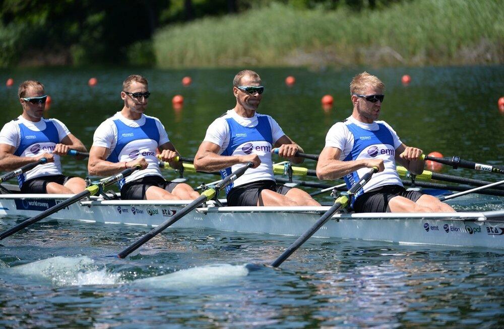 VINGE: Neljapaat sõudis end MM-finaali ja Rio olümpiale!