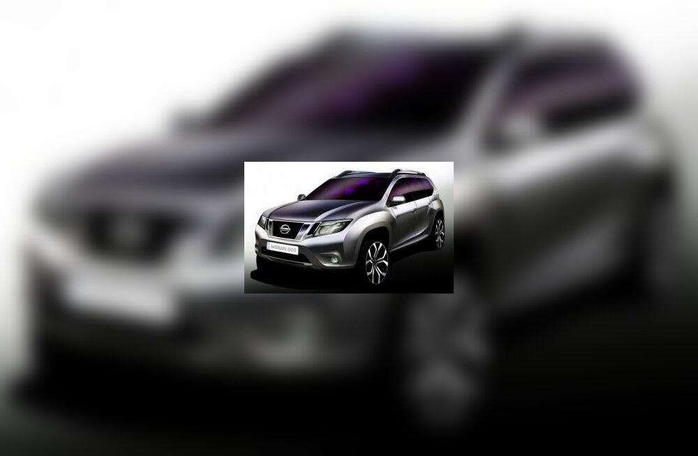 Nissan avaldas esimese foto uuest Terranost