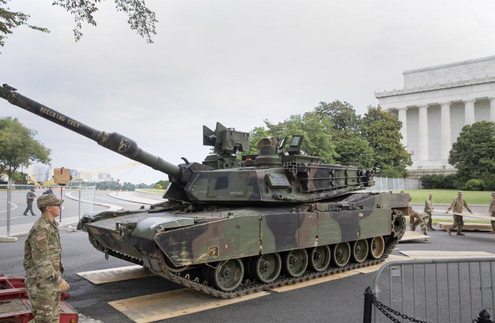 USA kiitis heaks tankide ja rakettide müümise Taiwanile