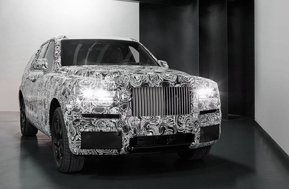 Rolls-Royce on sisenemas uue autoga linnamaasturite turule