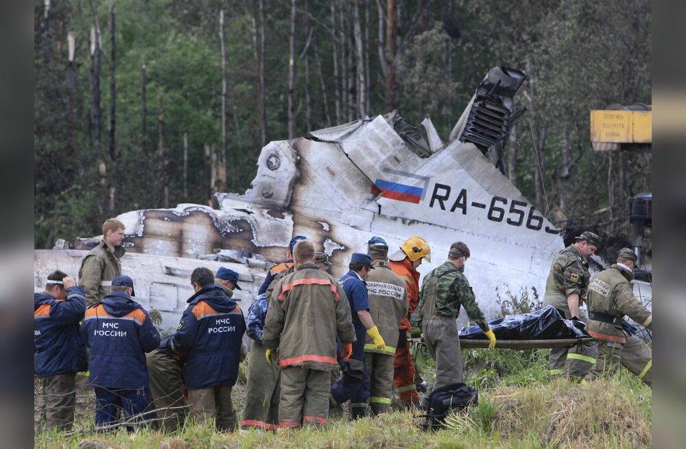 Haiglas suri Petroskoi lennuõnnetuse üle elanud 9-aastane poiss