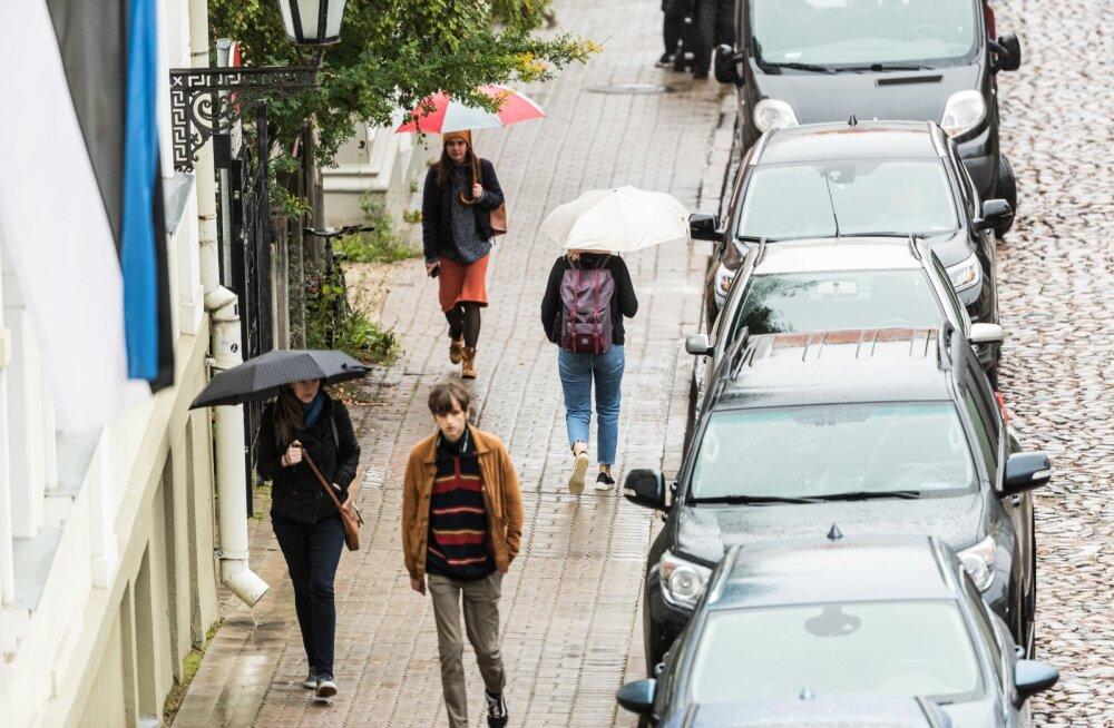 Uue nädala alguses on oodata vihmavarjude tagasitulekut.