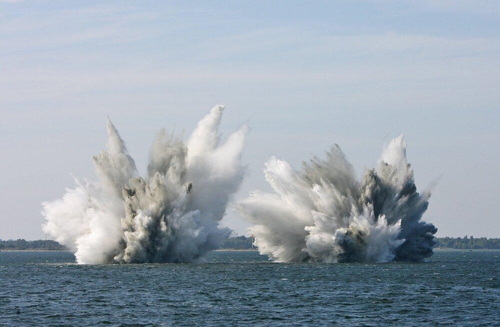 Miinide lõhkamine merel