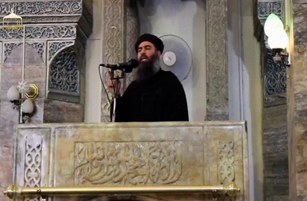 Trump: USA rünnaku alla sattunud terrorirühmituse Islamiriik juht Abu Bakr al-Baghdadi lasi end õhku