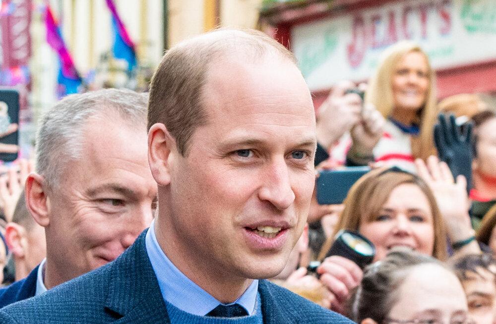 """Prints William heitis veel paar nädalat tagasi koroonaviiruse üle nalja: """"Meedia on sellega üle pingutanud, kas sa ei arva?"""""""