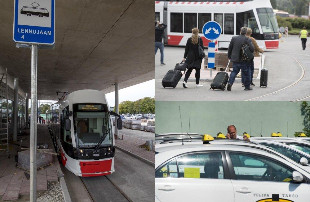 """Tulika otsib """"lennujaamataksodele"""" juhte: trammiliini avamine teeb taksojuhid oma valikutes ettevaatlikuks"""