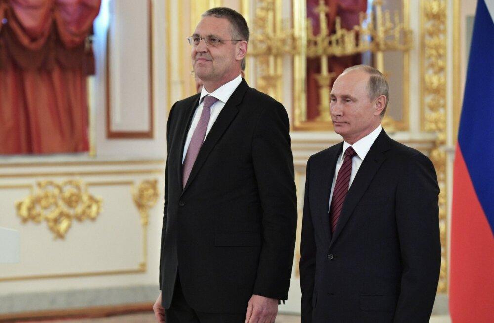 Издание: посол ЕС в Москве предложил расширить сотрудничество с Россией
