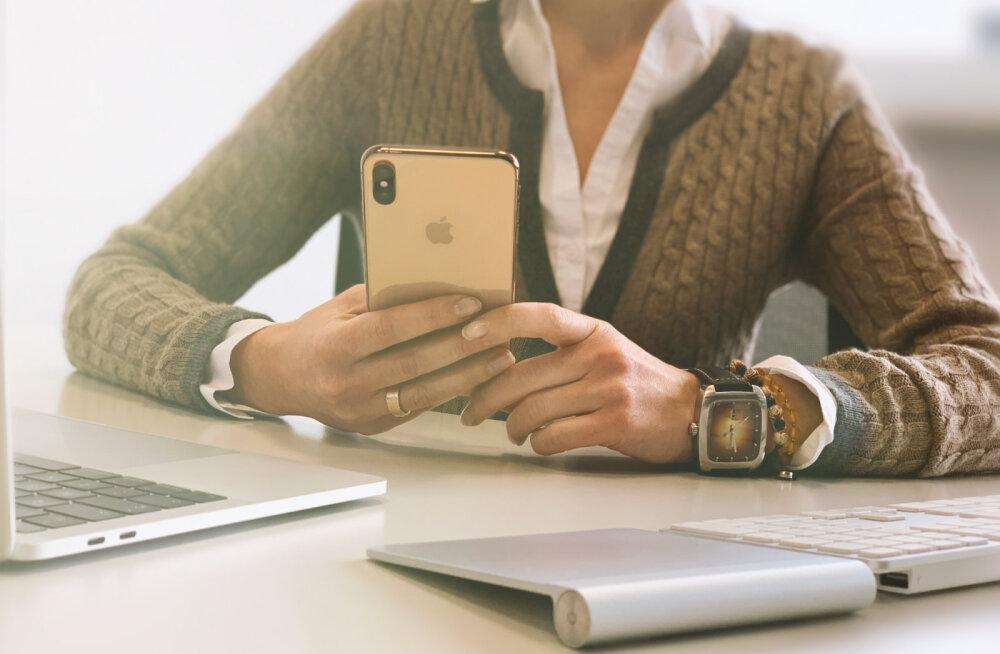 Ettevõtted otsivad lahendusi, et kaitsta teavet töötajate mobiilelefonides