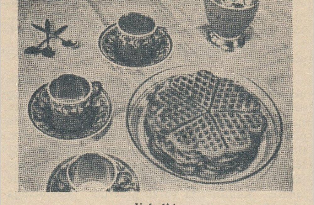 EESTIAEGSEID RETSEPTE | 5 erinevat vahvlitainast 1937. aastast, mida perele valmistada!