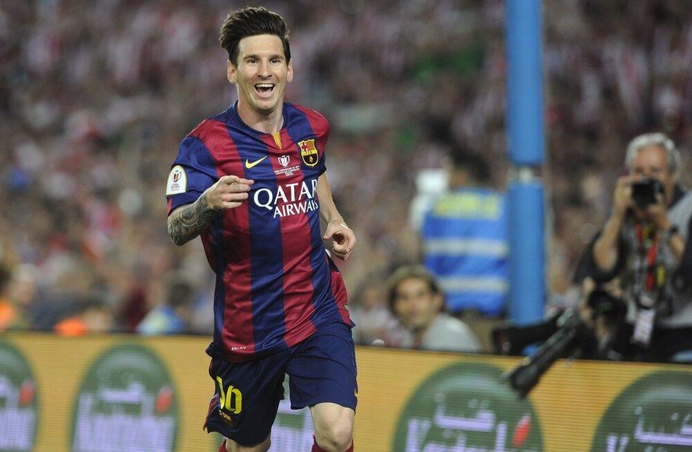 Lionel Messi on Barcelonaga võitnud juba 23 karikat