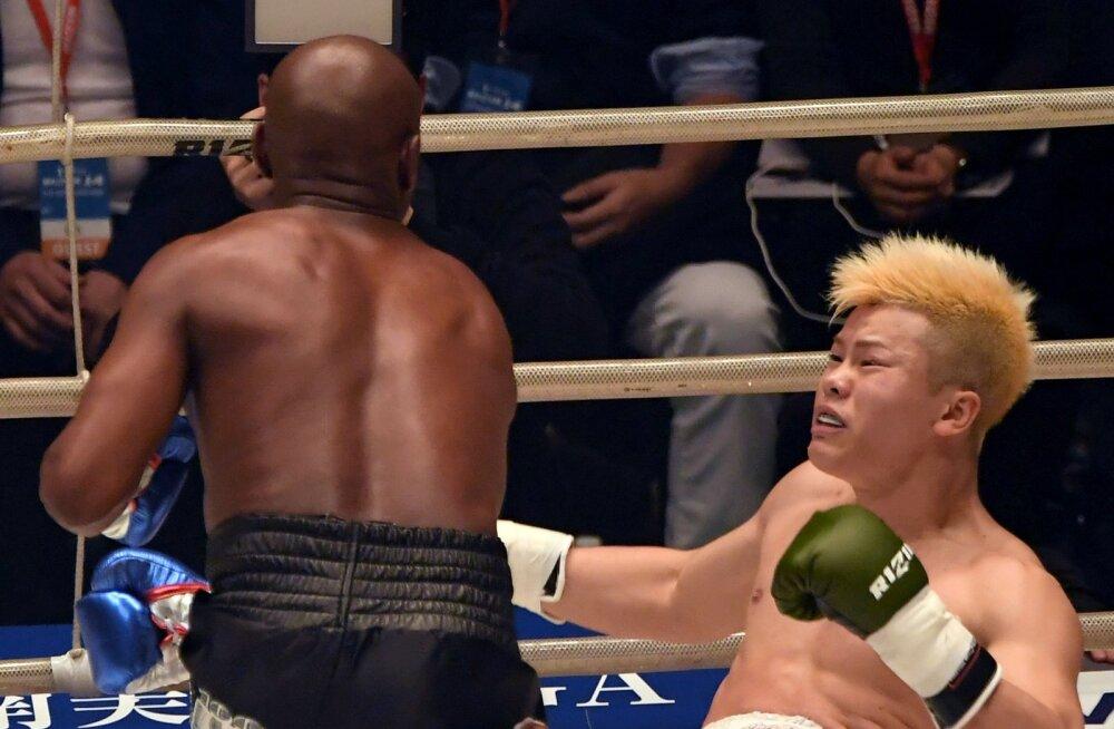 Mayweatherile selgelt alla jäänud Jaapani kikkpoksija vastas McGregori väljakutsele