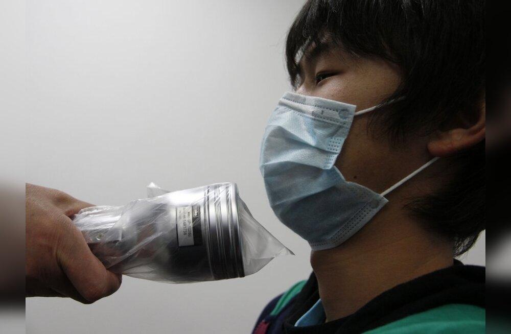 Kaks kiirgavat Jaapani turisti paigutati Hiinas haiglasse