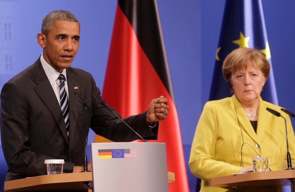 Obama ja Merkel