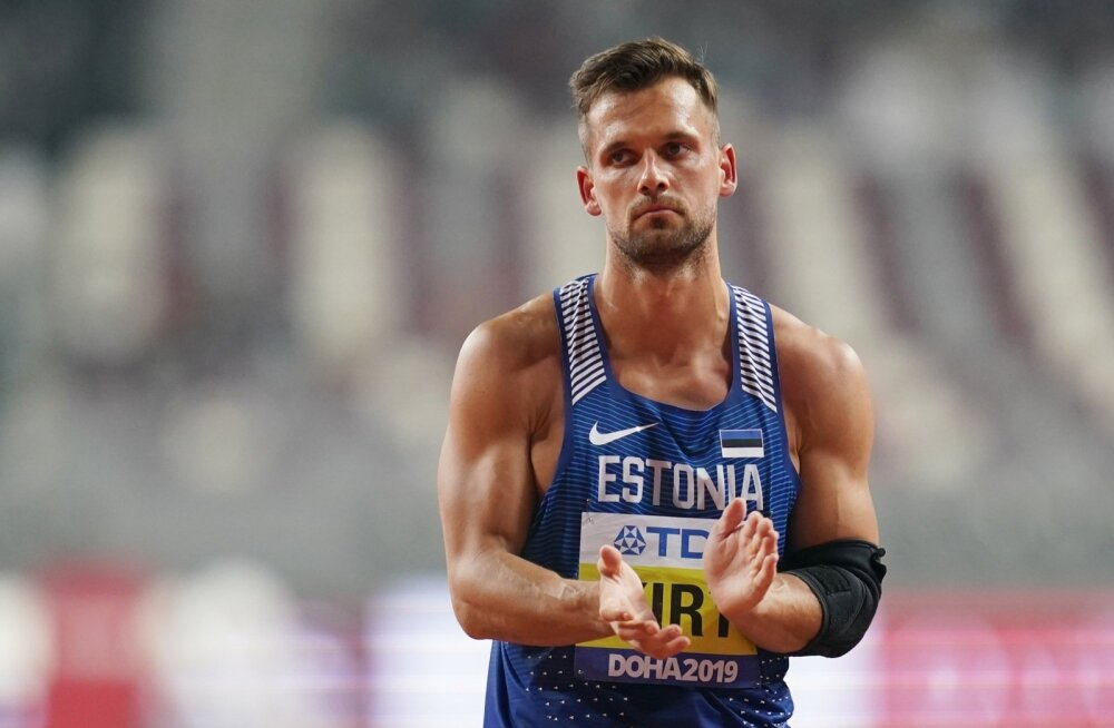 Magnus Kirt Doha MM-il.